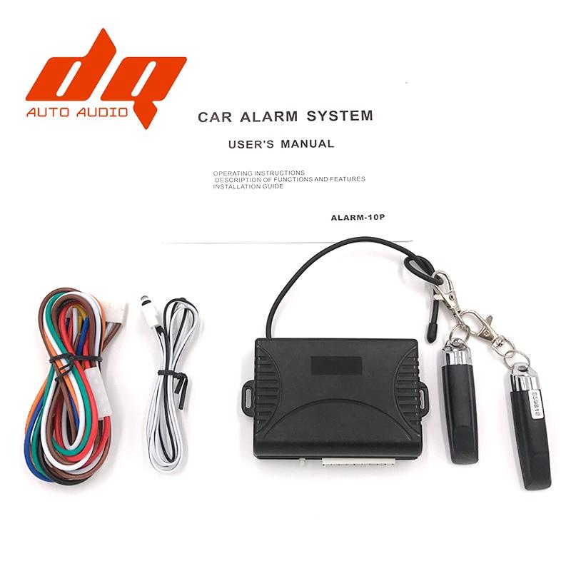 General Car Auto Remote Central Kit Door Lock Locking System With Key Central Locking with Remote Control Car Alarm