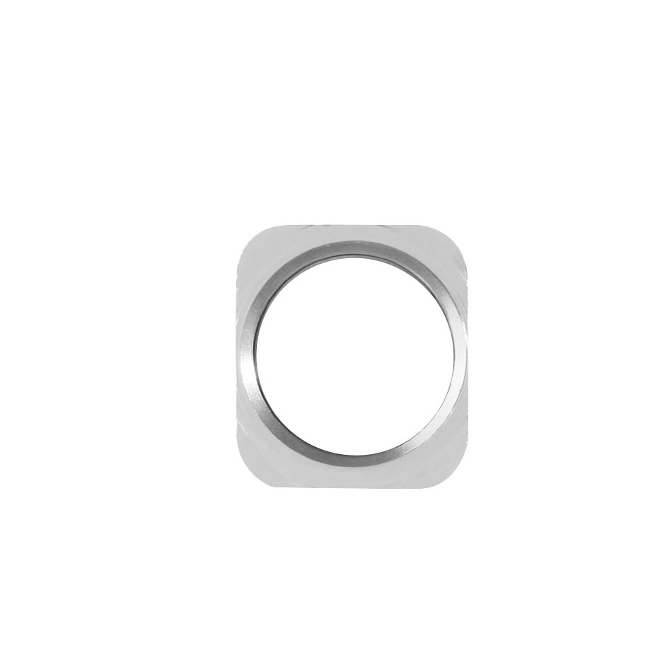 1PC New Home Button Key With Metal Ring For IPhone 5 Same Look As For IPhone 5S Style