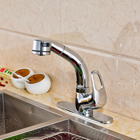 Good Price Best Design Chrome Finish Two Functions Pull Out Sprayer Water Faucet For Kitchen