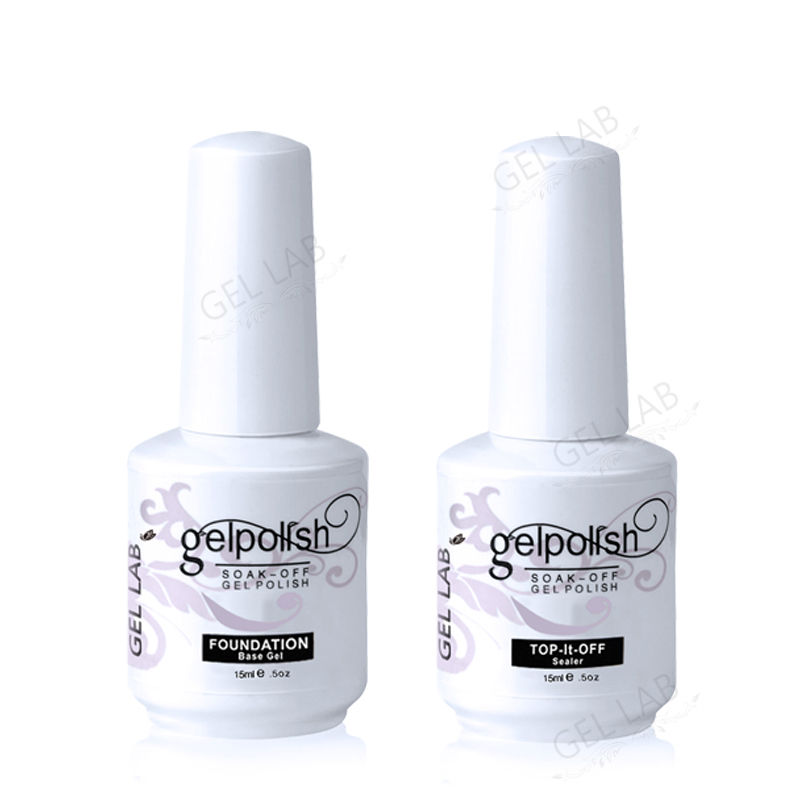 Blue Velvet 15ml Nail Primer Base Coat + Top Coat Manicure