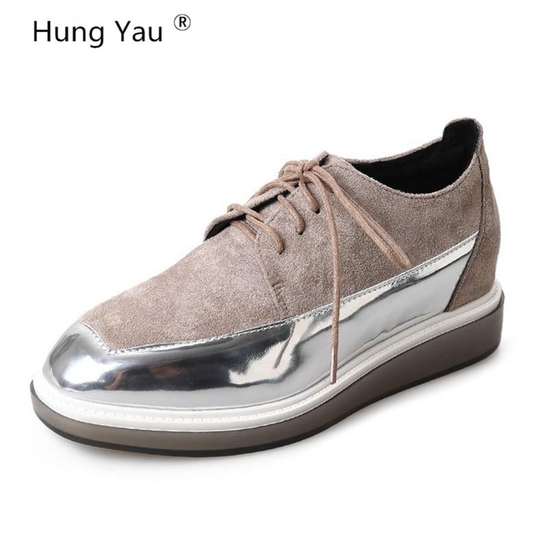 Hung Yau FLAT Oxford Shoes For Woman Flats Brogue Oxford Women Shoes moccasins sapatos femininos sapatilhas zapatos mujer Size 8 сувениры bradex набор подарочный для новорождённого моя малышка