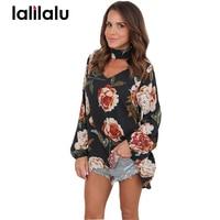 Plus Size Long T Shirt Female 2017 Autumn Women Tops Long Sleeve Black V Neck Loose