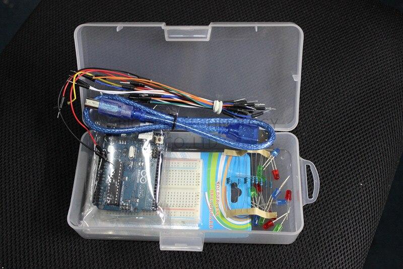 UNO R3 Kit Small Tool Tools for arduino DIY Basic Kit Freeshipping Dropshipping open smart uno atmega328p development board for arduino uno r3