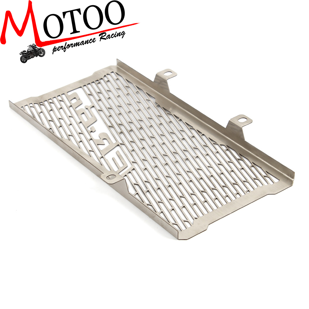 Motoo - free shipping Radiator Grille Grill Cover Protector Guard For KAWASAKI ER-6N ER6N 2012 2013 2014 2015 2016 motorcycle arashi radiator grille protective cover grill guard protector for kawasaki z800 2013 2014 2015 2016