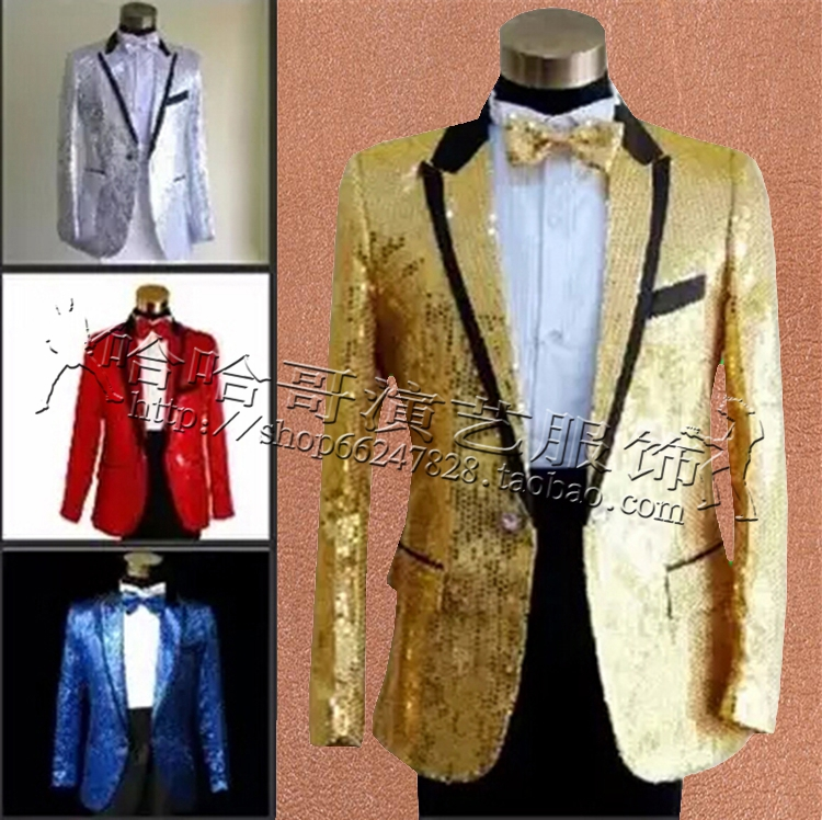 Popular Mens Red & Gold Blazer-Buy Cheap Mens Red & Gold ...
