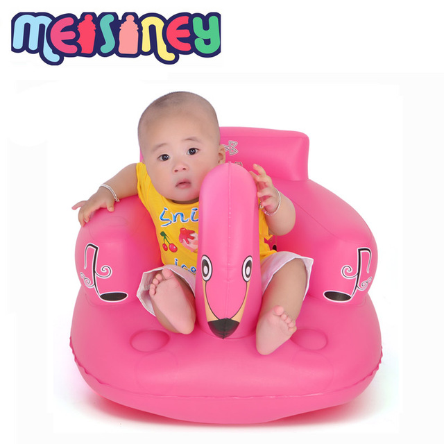Baby Air Inflation Sofa, Baby Chair Multifunction Child Dining/washing Chair  Swan Chairs