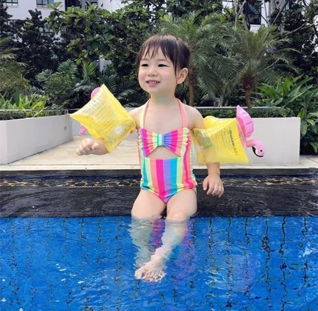 Игрушки Детские Ванны Фламинго Краб ананас вишня поплавка круг плавающей надувной бассейн держатель бассейн морской пляж вечерние L016