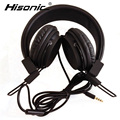 Hisonic headphones Anti-noise Dazzle Lights Headphone With Mic Remote stereo Hifi Gaming For PC ecouteur headset Headphones