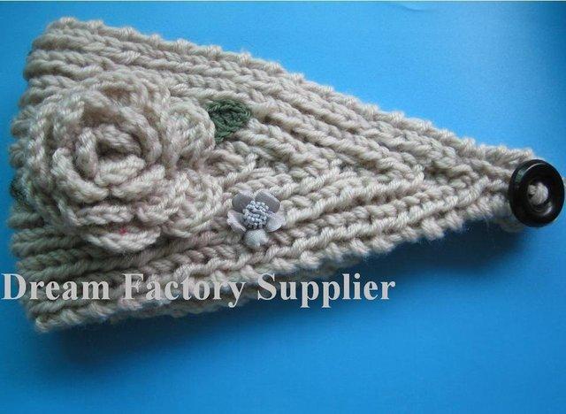 High Qulity Cheap Knit Ear Warmer Headwrap Headband With Hand
