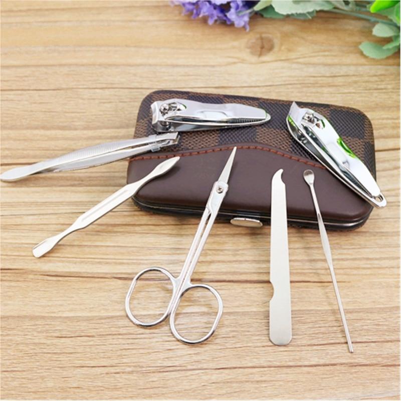 Pedicure Manicure Set For Nail Extension 7pcs,Nail Art Tweezers ...