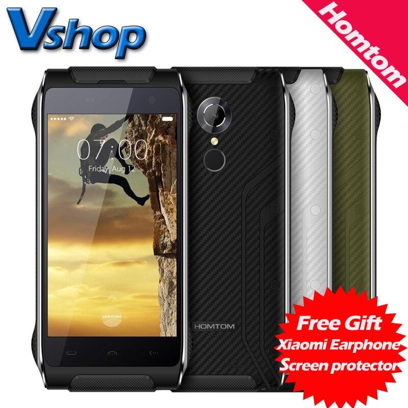 Цена за Оригинал homtom ht20 водонепроницаемый 4 г пусть android 6.0 ram 2 ГБ ROM 16 ГБ MT6737 Quad Core 4.7 дюймов 720 P Смартфон OTG