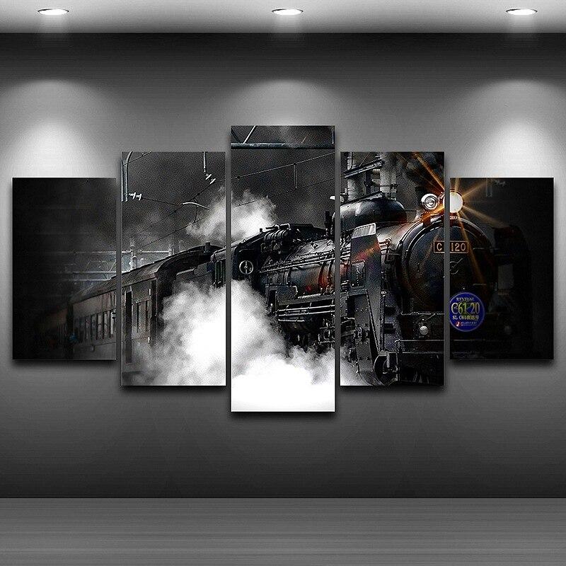 Lienzo artístico pintura HD impreso enmarcado pintura al óleo ...
