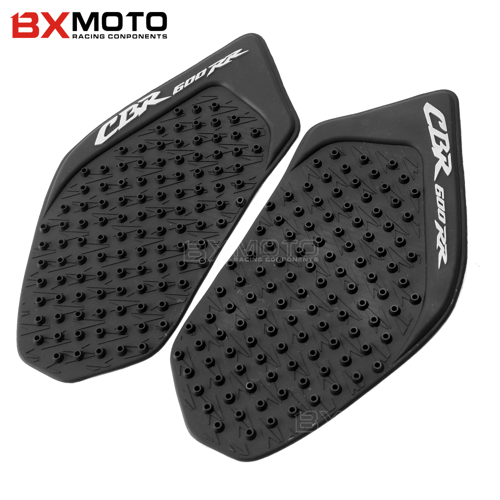 Tank Pad Protector Sticker Decal Gas Knee Grip Tank Traction Pad Side 3M For <font><b>Honda</b></font> CBR600RR <font><b>CBR</b></font> <font><b>600</b></font> RR 2003 <font><b>2004</b></font> 2005 2006 image