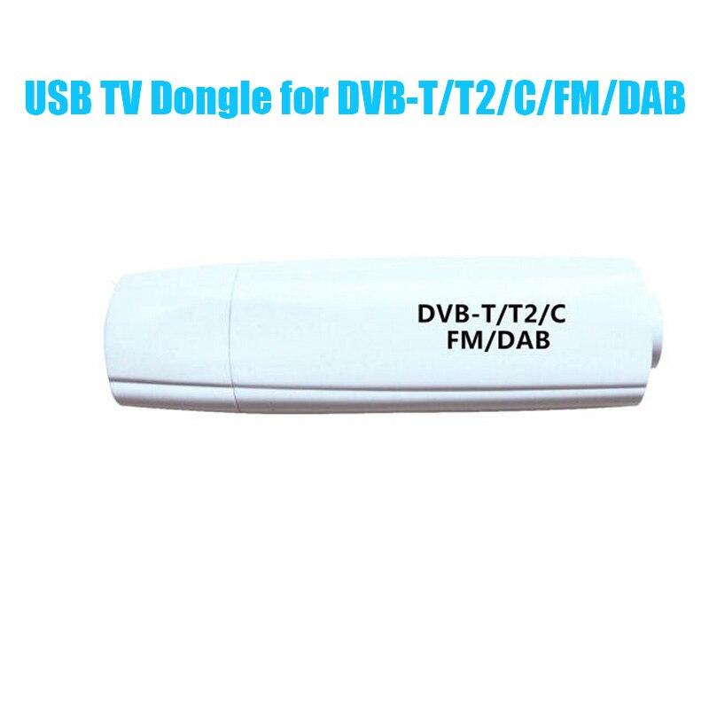 Nouveau 1080 P HD DVB-T DVB-C FM USB2.0 TV stick DVB-T2 TV Dongle TV récepteur avec télécommande pour WINDOWS XP WIN7 WIN8 WIN10