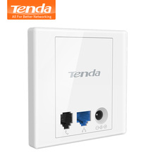Tenda W3 Wireless 150Mbps Wall Plate Access Points,AP,Indoor Wall Wireless WiFi Router repeater, Standard 86mm Panel,USB Charger(China (Mainland))