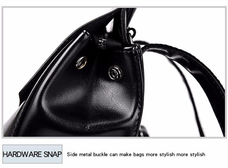 HTB19IsVX29TBuNjy0Fcq6zeiFXam 2018 HOT Fashion Women Backpack High Quality PU Leather Backpacks for Teenage Girls Female School Shoulder Bag Bagpack mochila