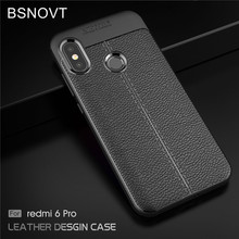 BSNOVT Xiaomi Mi A2 Lite Cover Soft Silicone TPU Leather Shockproof Phone Cases For Redmi 6 Pro Lite}