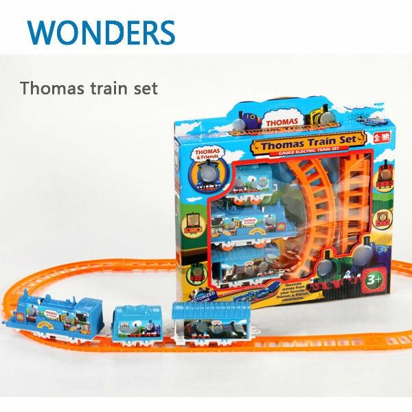 Thomas Train children Toys Educational Electric Rail Train Thomas and Friends Mini Electric Train Set Track Toy
