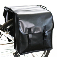 100% NEW Waterproof MTB Bicycle Carrier Bag Rear Rack Bike Trunk Bag Luggage Pannier Back Seat Double Side Cycling Bycicle Bags