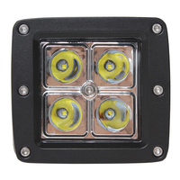 Hot Sale 16W 4 X 4W LEDs Work Light Suitable For Motorcycle Tractor Boat 4WD Offroad