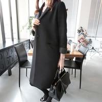 Women S Blazer 2017 Suit Female New Spring Long Sleeve Below Knee Length Split Thin All