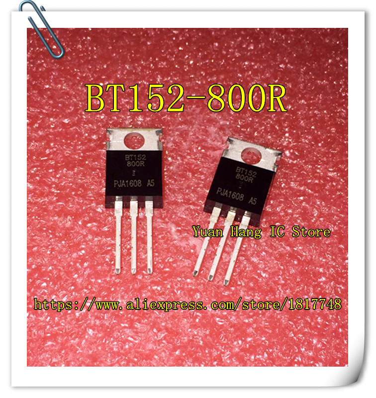 Free Shipping 10PCS BT152-800R BT152-800 BT152 THYRISTOR 20A 800V TO-220