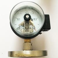 YXC 100MF 0 0.4 flange type electric contact diaphragm pressure gauge pressure gauge factory in Shanghai|gauge|gauge pressure  -