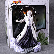 цена 25cm Naruto Shippuden Uchiha Obito Anime Action Figure PVC Collection toys for christmas gift онлайн в 2017 году