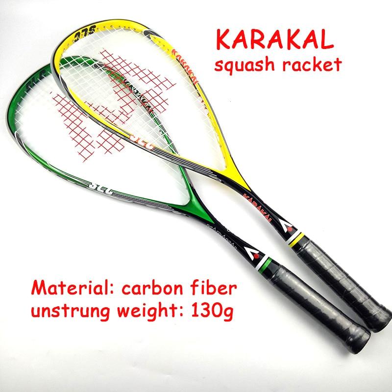 Officiel Karakal Raquette de Squash Avec Courge Chaîne Sac Professionnel Carbone Match de Padel Jeu de Sport Formation raquete de courge - 3
