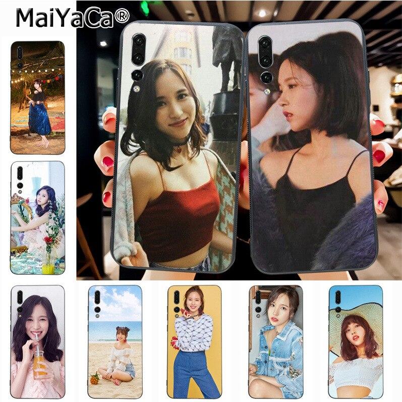 Maiyaca Twice Mian Newest Fashion Luxury phone case for Huawei P20 P20 pro Mate10 P10 Plus Honor9 cass(China)