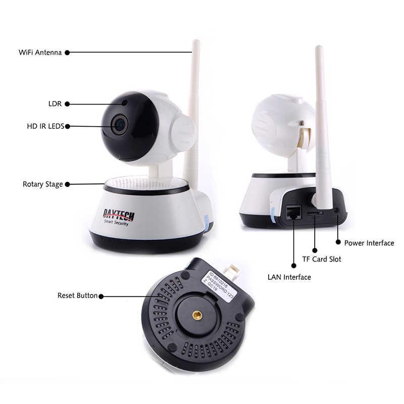 DAYTECH 1080P Беспроводная ip-камера для домашнего наблюдения, WiFi камера, сеть видеонаблюдения, детский монитор, двухстороннее аудио, ИК ночного видения, наклон