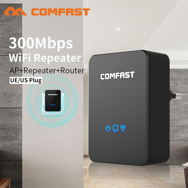 Quality Wireless Wifi Repeater/Router 300mbps 2.4Ghz