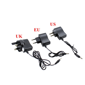 Image 4 - AC Power Charger Adapter Port To 18650 Battery Flashlight Headlamp Supply Converters Wire EU US UK Car Plug Free shipping
