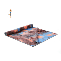 KAWO Fitness Dance Yoga Mat Toalla Yoga Mats Towel Folding Massage Mat Yoga Pilates Exercise Mat