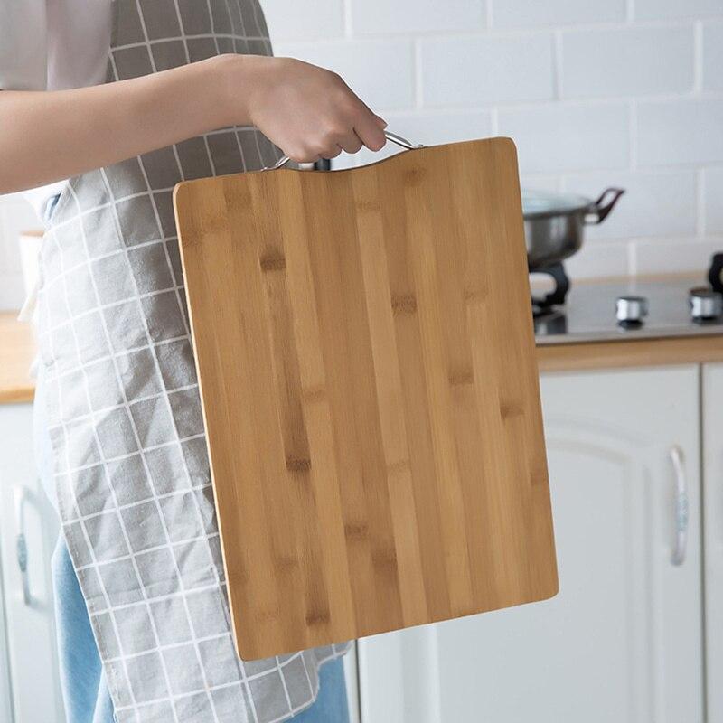 Thicken Cutting Boards Nature Chopping Board Bamboo Chopping Block Tool Wooden Cutting Board for The Kitchen Hot Kitchen Stuff(China)