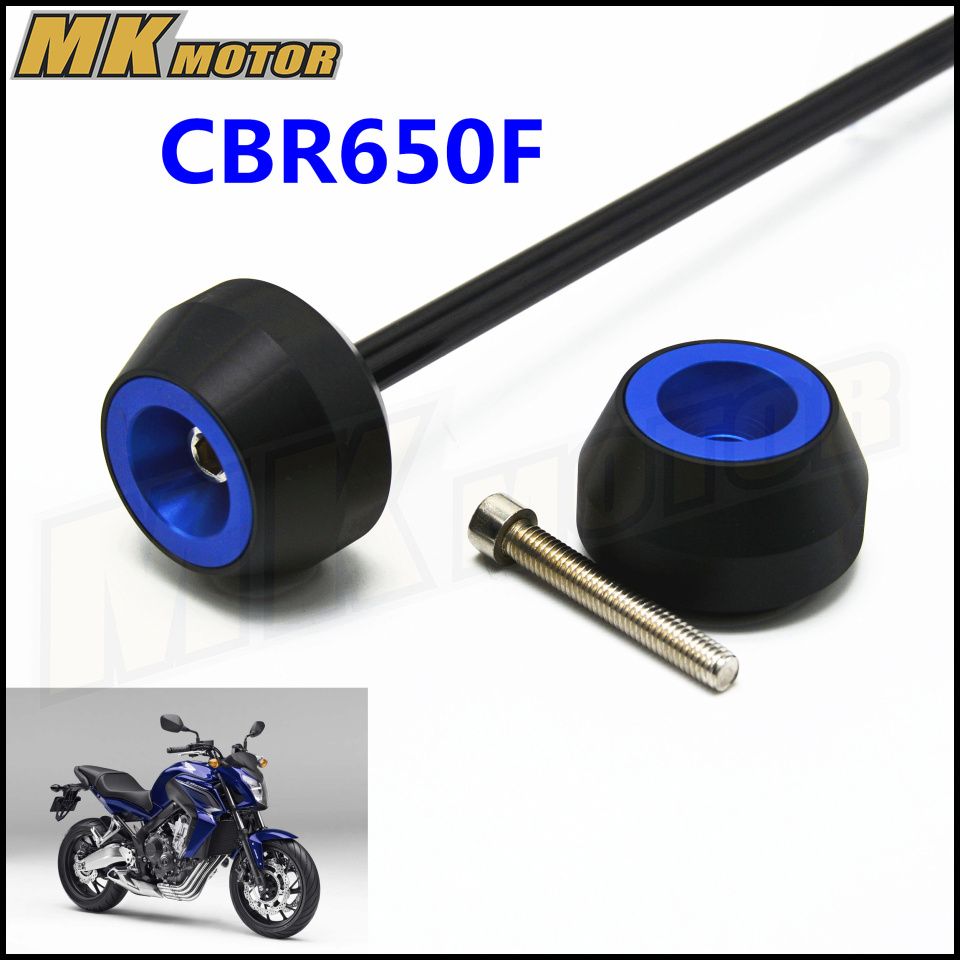 Free delivery For HONDA CBR650F 2014 2015 CNC Modified Motorcycle drop ball shock absorber in Covers Ornamental Mouldings from Automobiles Motorcycles