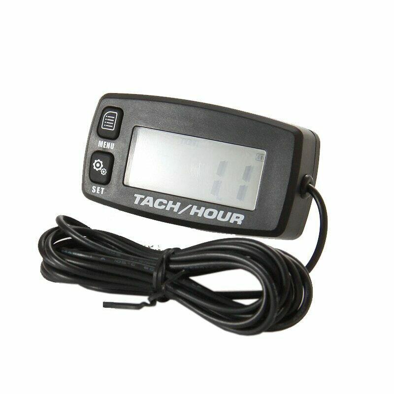 Nouveau tachymètre numérique Tach heure étanche rétro-éclairé 2/4 temps moteurs auto remplacement batterie tachymètre numérique