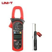 Mierniki UNI-T UT203 UT204 UT204A 600A AC DC Cyfrowy Z Testu Auto Zakres Temperatury 600 V Napięcia Ciągłość Buzzer