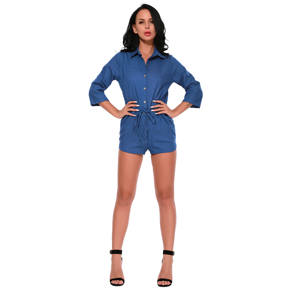 Compare Prices on Ladies Denim Jumpsuits- Online Shopping/Buy Low ...