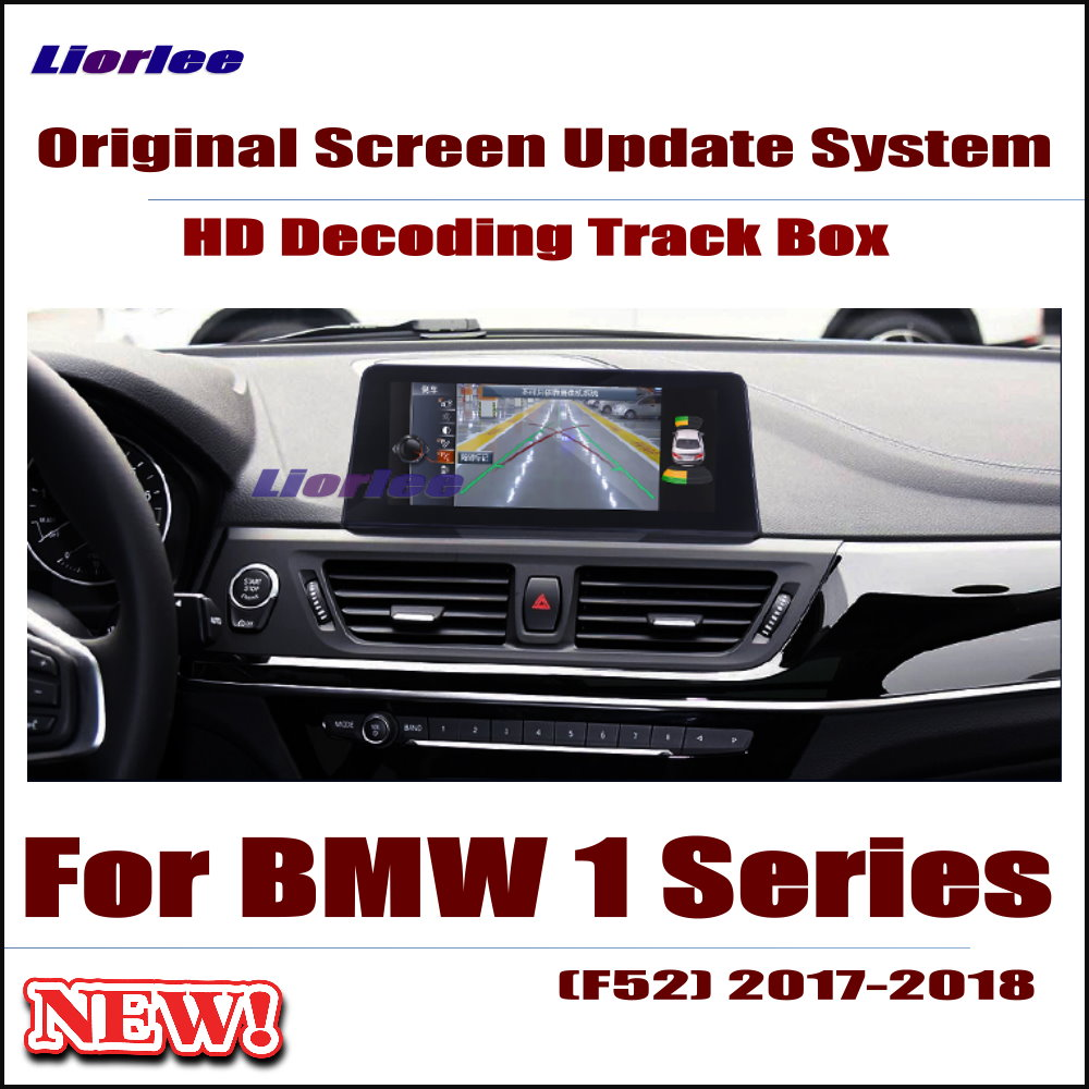 Original Car Screen Update Decoder For BMW 1 Series 2017 2018 NBT system Parking Rear view Camera Carplay Interface Adapter in Cables Adapters Sockets from Automobiles Motorcycles