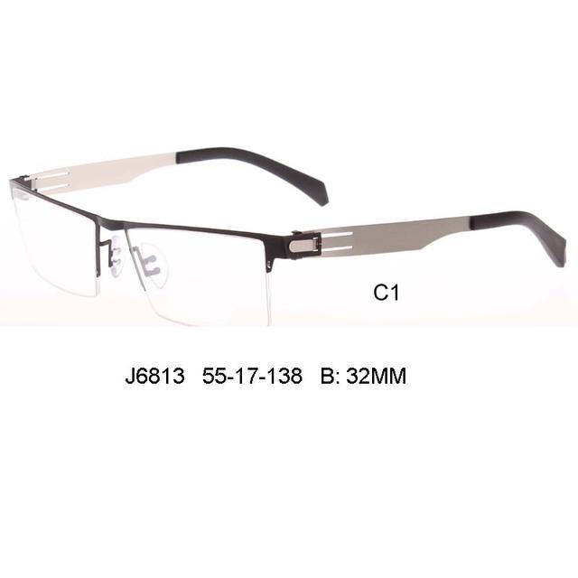 2017 Novo homem de negócios de design da marca Óculos Quadro Miopia Simples Óculos Mulheres Optical Óculos Óculos oculos de grau