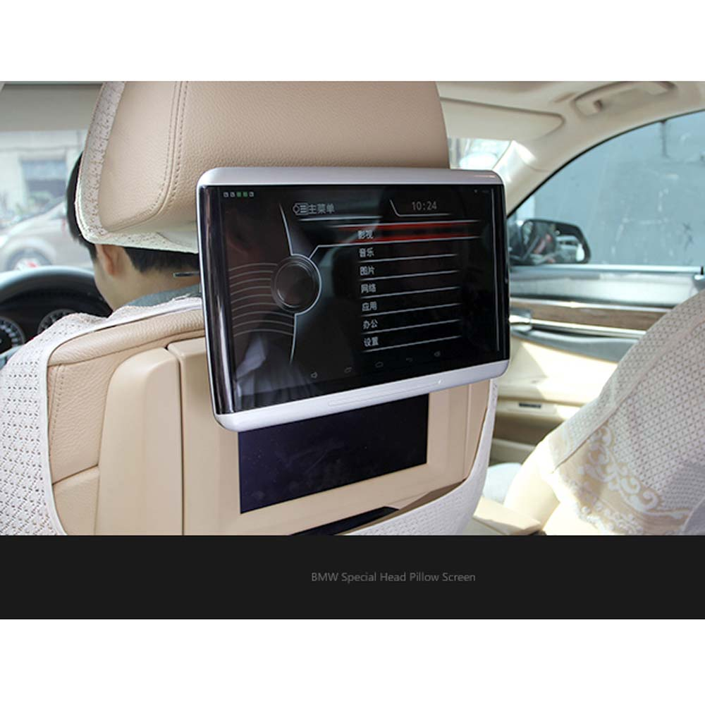 latest car rear seat entertainment 10 6 inch lcd for bmw. Black Bedroom Furniture Sets. Home Design Ideas