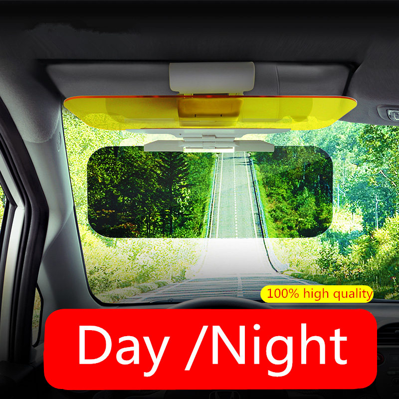 Car HD Sun Visor Mirror For Driver Day and Night Anti-dazzle Mirror Sun Visors  Clear View Dazzling Goggles Interior Accessories 7c74ee012b2