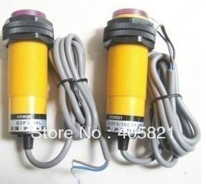 photoelectric switch,E3F3-10DP1 10L, PNP,3-wire NO,diameter 30mm zd 70n photoelectric switch