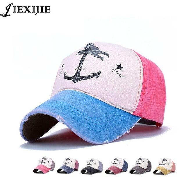 38dec04f51f fashion couple pirate anchor hat men caps bone baseball cap for man cotton  printing hip hop