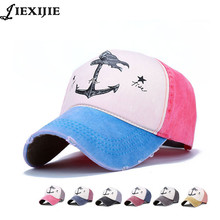 fashion couple pirate anchor hat men caps bone baseball cap for man cotton printing hip hop male cap Russia style Women's hats