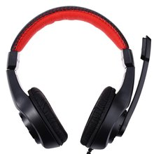 Lupus G1 Gaming Headphone 3.5mm Surround Stereo Gamer Headset Headband with Mic for PC Laptop Low Bass Wired Headset audifonos(China)