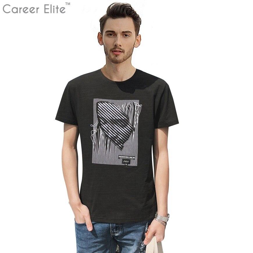 Personnalité Conception Drôle Imprimer T Chemises Hommes Vêtements 2018 T-shirt Streetwear Camisetas T-shirt Étranger Choses Tee Tops Plus La Taille