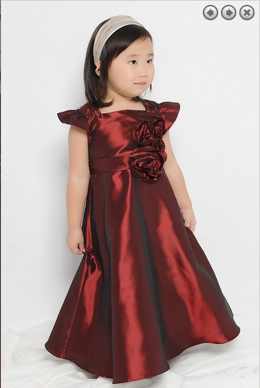 free shipping   flower     girl     dresses   for weddings 2016 first communion   dress   pageant   dresses   for   girls   glitz wedding party   dresses