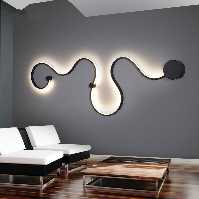 Modern wall lamps led wall light bedroom beside wall sconces lustre wandlamp ceiling corridor - Oggetti per camera da letto ...